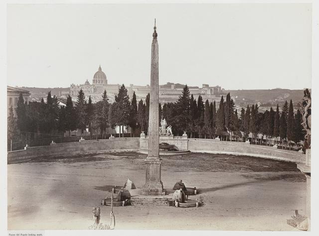 Piazza del Popolo looking south