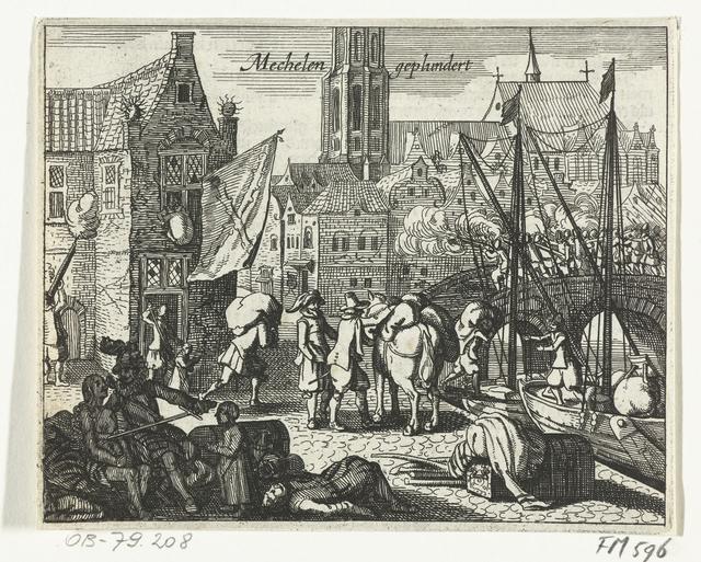 Plundering van Mechelen, 1572