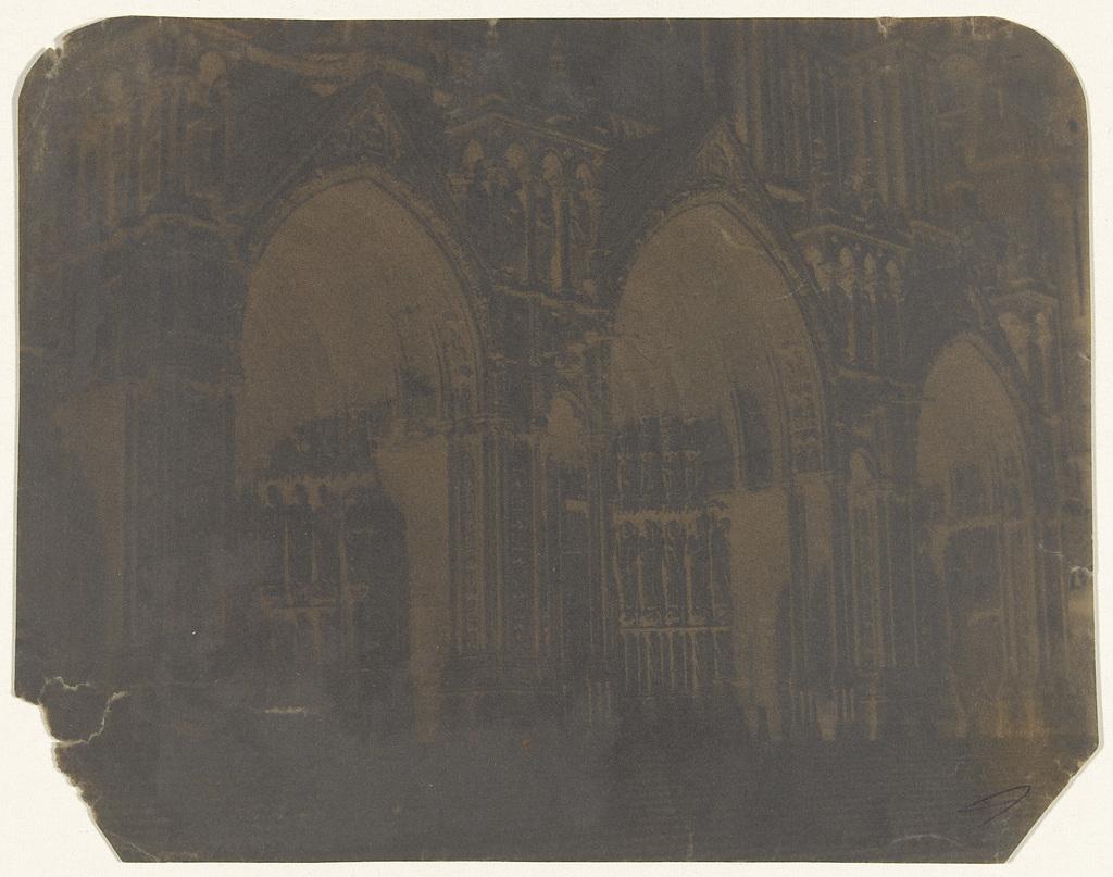 Portaal aan de zuidzijde van de kathedraal van Chartres