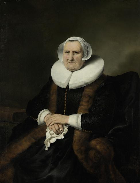 Portrait of an Old Lady, Possibly Elisabeth Bas