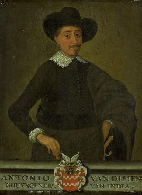 Portrait of Antonio van Diemen, Governor-General of the Dutch East Indies