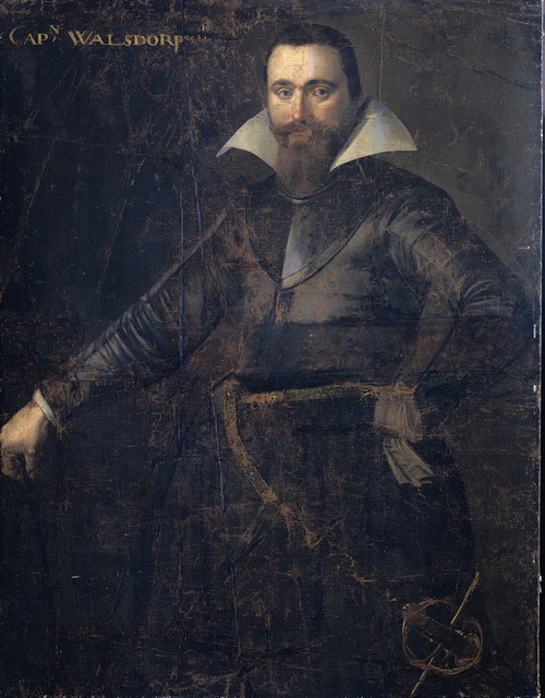 Portrait of Bartholomeus Andrio Walsdorffer, Captain of a Swiss Company to Apportion Friesland, Died at Bergen-op-Zoom