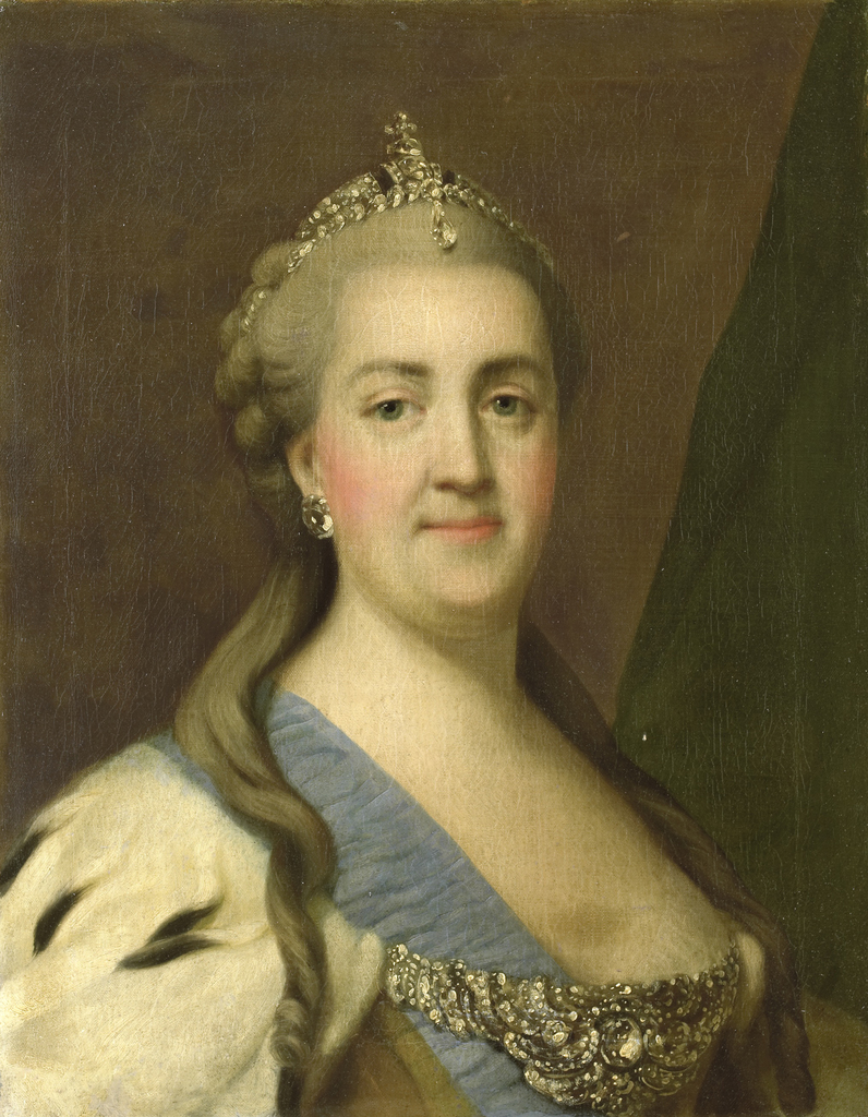 Portrait of Catherine II, Empress of Russia (Catherine the Great)