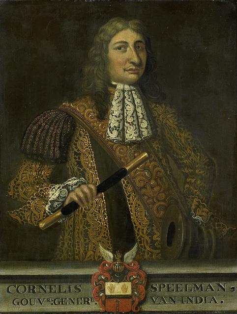 Portrait of Cornelis Speelman, Governor-General of the Dutch East Indies