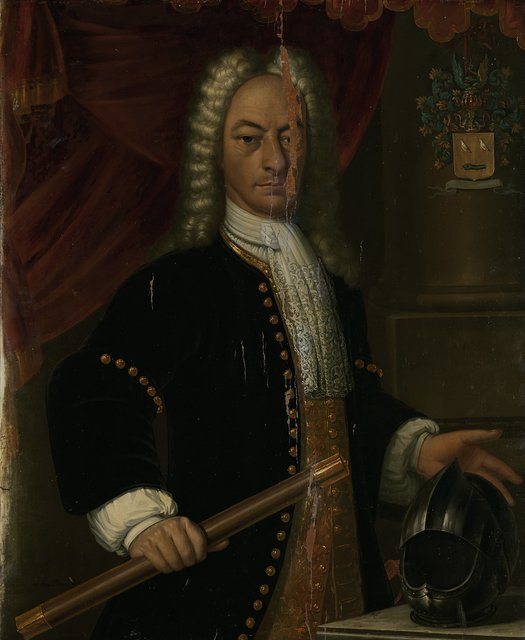Portrait of Diederik van Durven, Governor-General of the Dutch East Indies