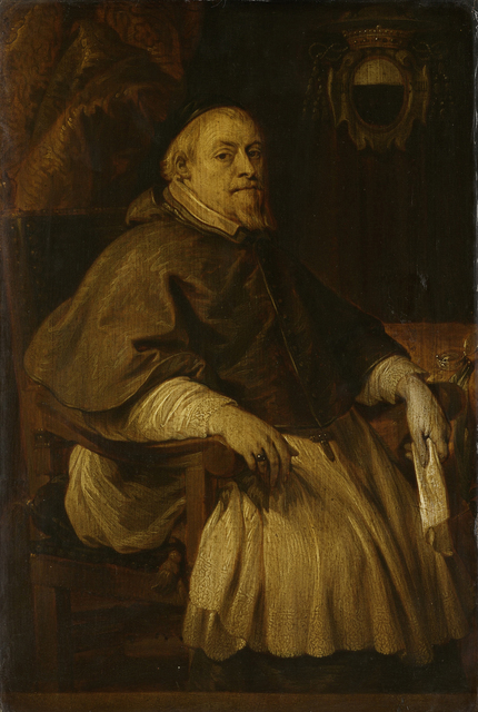 Portrait of François Vilain de Gand, Baron of Rassenghem, Bishop of Doornik