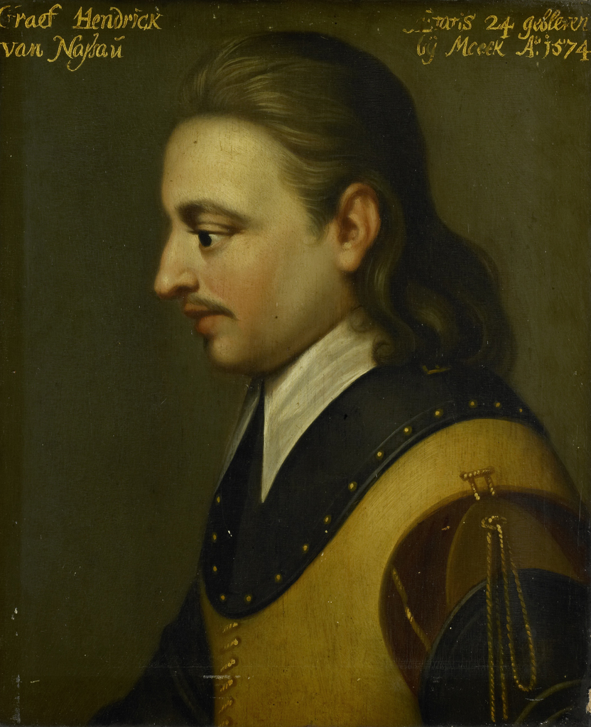 Portrait of Hendrik, Count of Nassau
