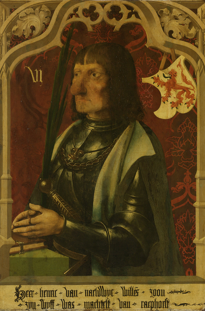 Portrait of Hendrik IV of Naaldwijk, Knight and Hereditary Marshall of Holland