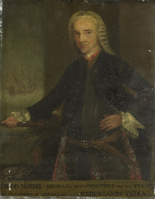 Portrait of Jacob Mossel, Governor-General of the Dutch East India Company