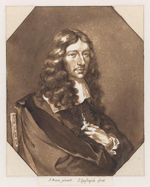 Portrait of Jan de Bisschop