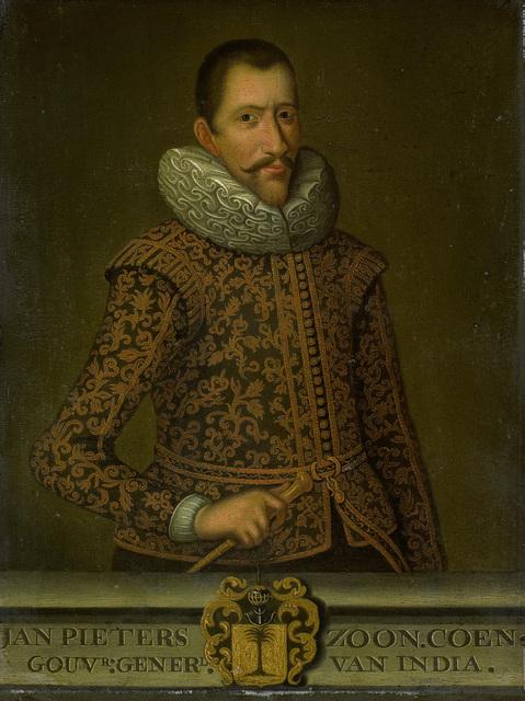 Portrait of Jan Pietersz Coen, Governor-General of the Dutch East Indies