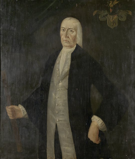 Portrait of Jeremias van Riemsdijk, Governor-General of the Dutch East India Company