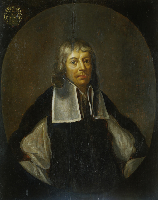 Portrait of Joan Maetsuyker, Governor-General of the Dutch East Indies