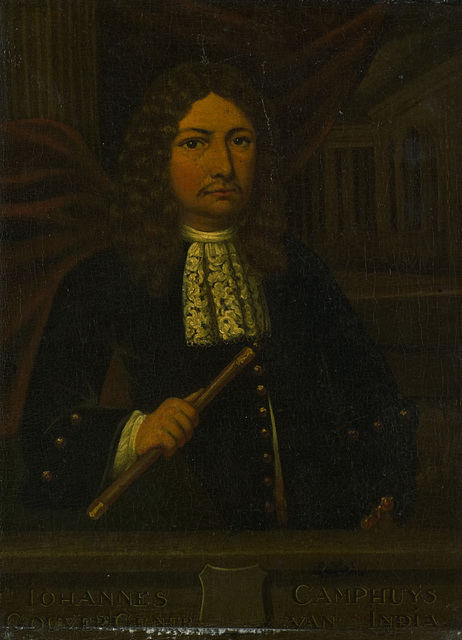 Portrait of Johannes Camphuys, Governor-General of the Dutch East Indies