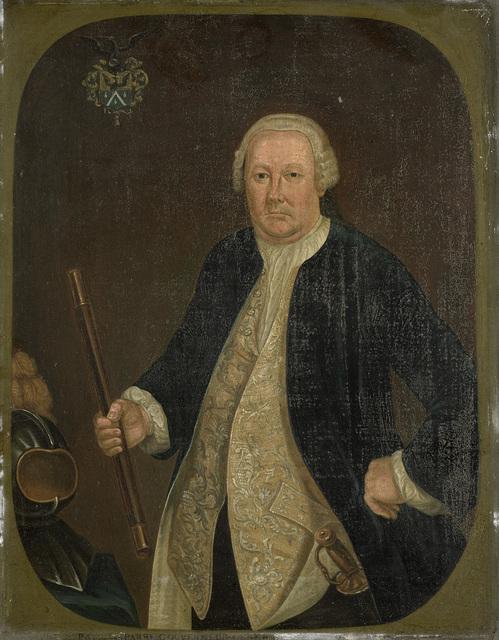 Portrait of Petrus Albertus van der Parra, Governor-General of the Dutch East India Company