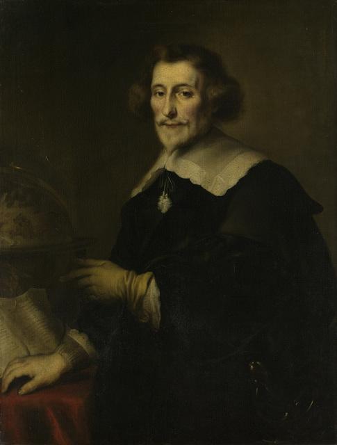 Portrait of Pieter Corneliszoon Hooft, Bailiff of Muiden, Historian and Poet