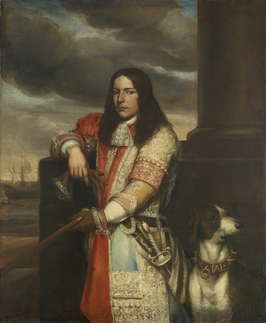 Portrait of Vice-Admiral Engel de Ruyter, Son of Michiel Adriaensz de Ruyter