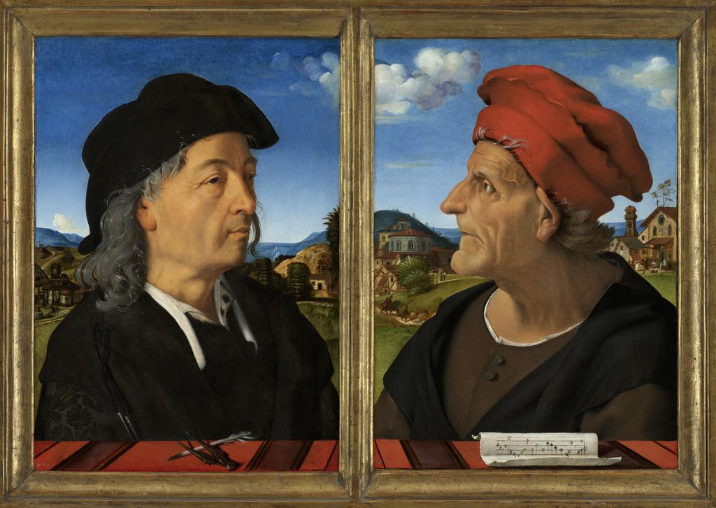 Portraits of Giuliano and Francesco Giamberti da Sangallo