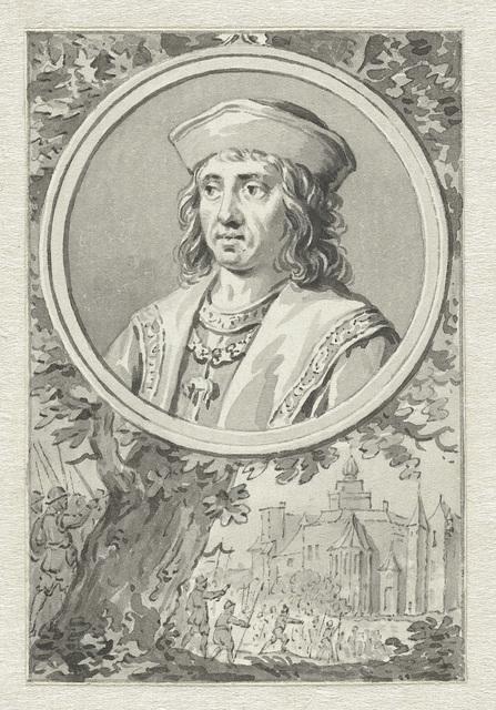 Portret van Albert, hertog van Saksen