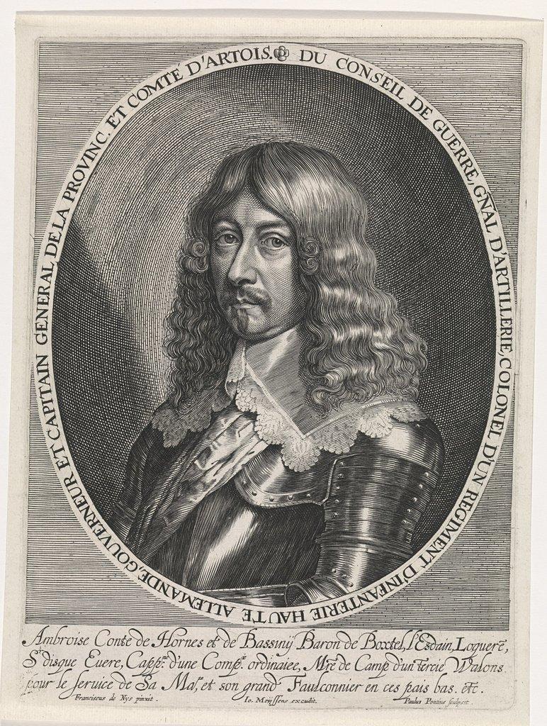 Portret van Ambrosius, hertog van Hornes en Bassigny