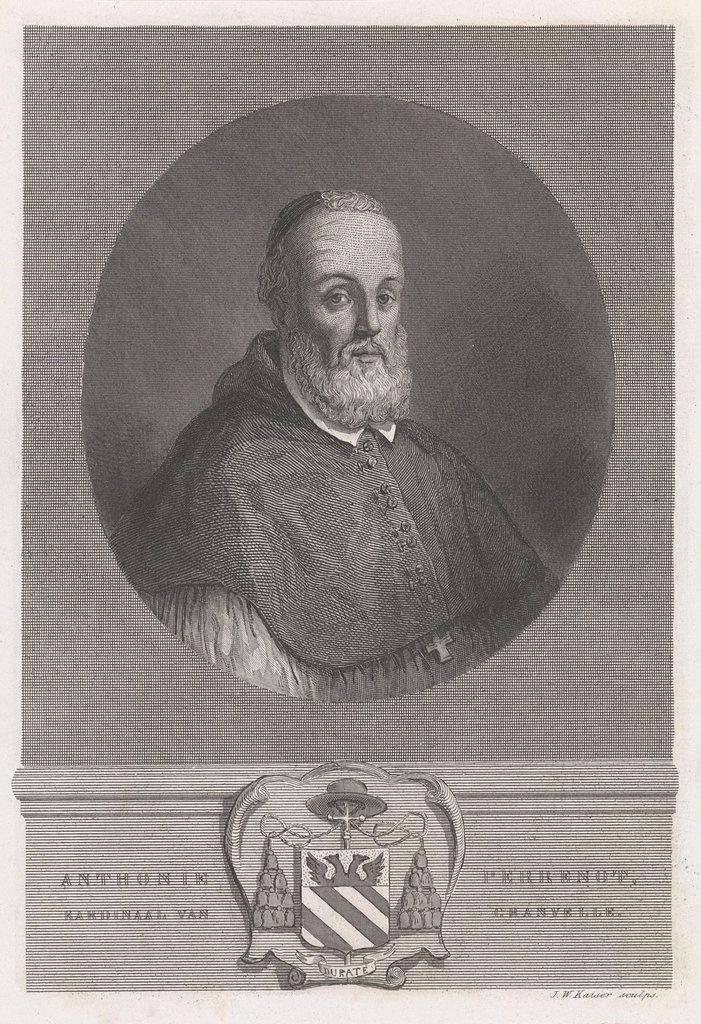 Portret van Anthonie Perrenot, kardinaal van Granvelle