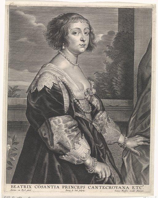 Portret van Béatrix de Cusance