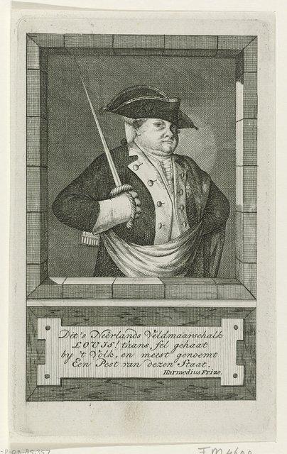 Portret van de hertog van Brunswijk, 1782-1783