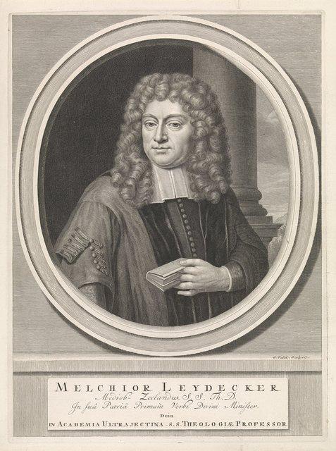 Portret van de theoloog Melchior Leydekker