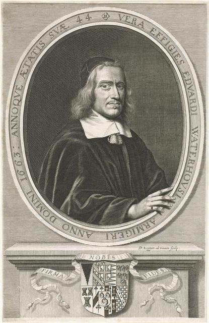 Portret van Edward Waterhouse