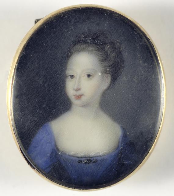 Portret van een meisje, vermoedelijk een dochter van George II, koning van Engeland