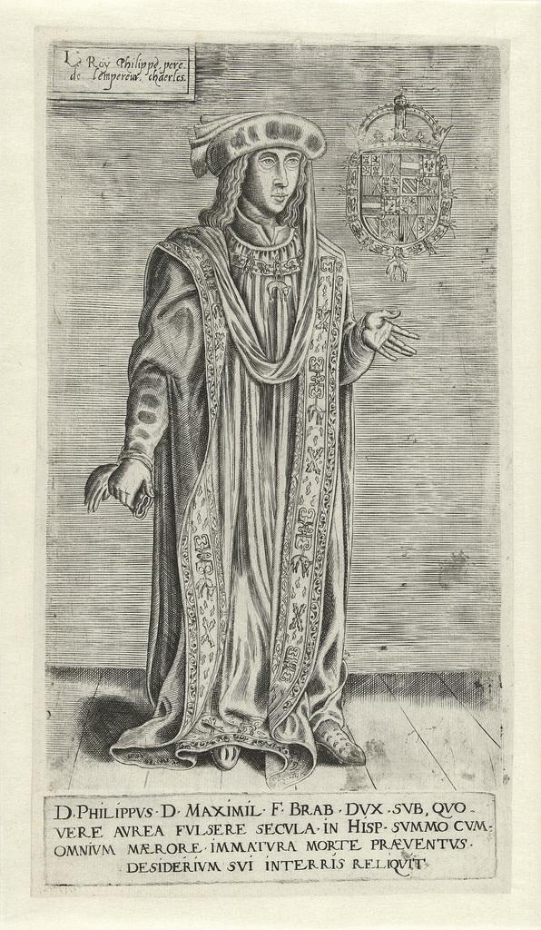Portret van Filips de Schone