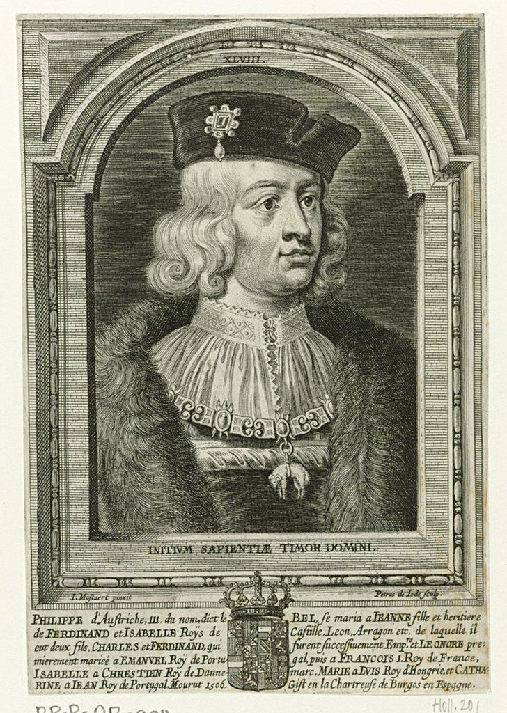 Portret van Filips III de Schone