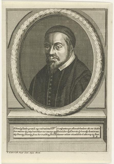 Portret van Georgius Cassander