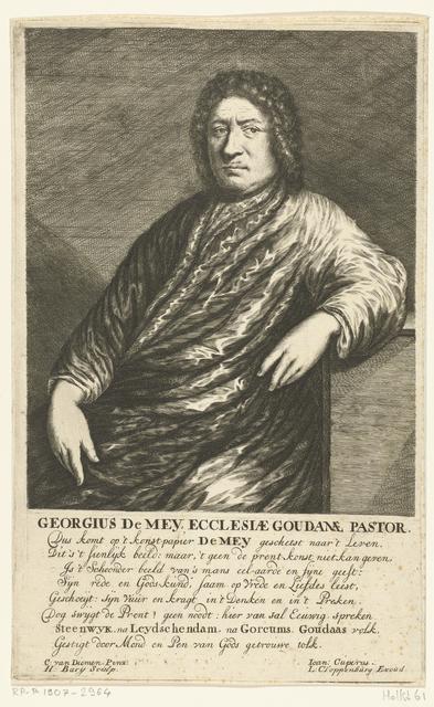 Portret van Georgius de Mey