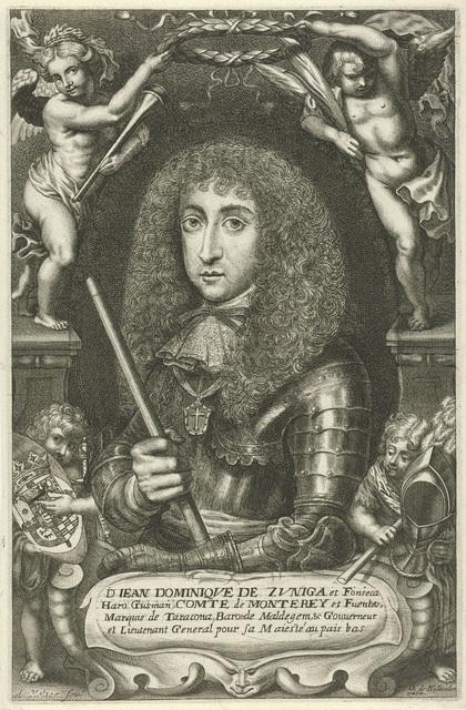 Portret van Juan Domingo de Zuñiga y Fonseca