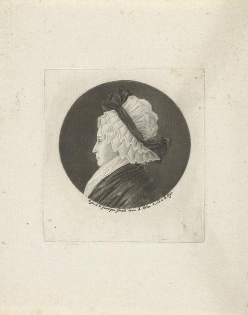 Portret van Magdalena Adriana van Haren
