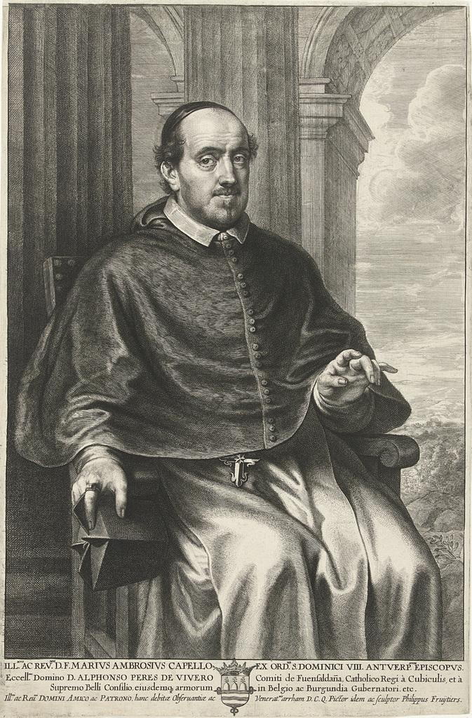 Portret van Marius Ambrosius Capello