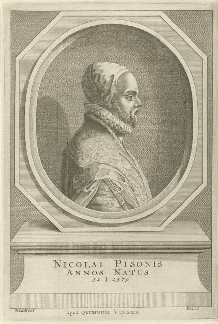Portret van Nicholas le Pois