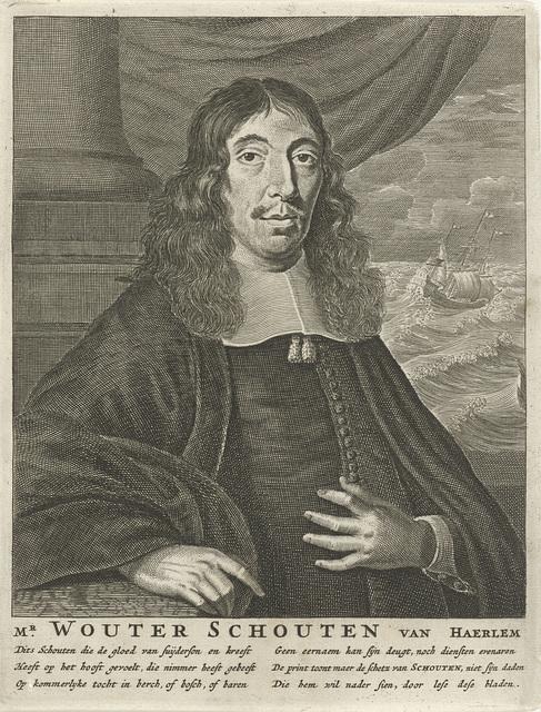 Portret van Wouter Schouten