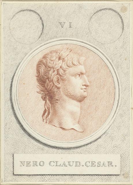 Portretmedaillon van Nero, Romeins keizer