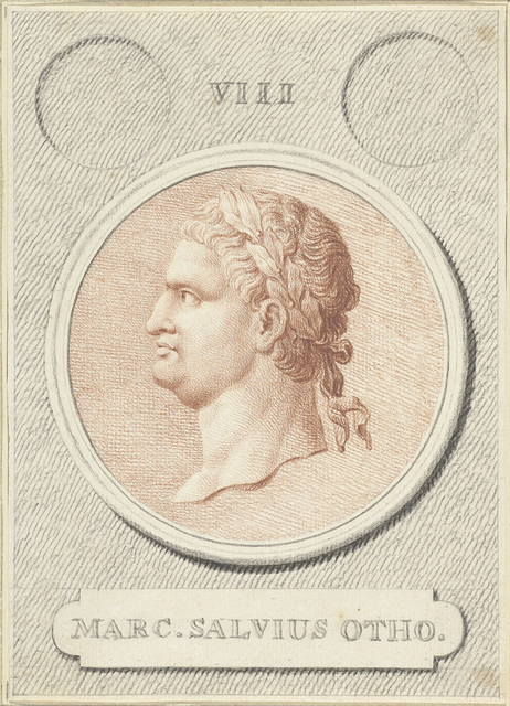 Portretmedaillon van Otho, Romeins keizer