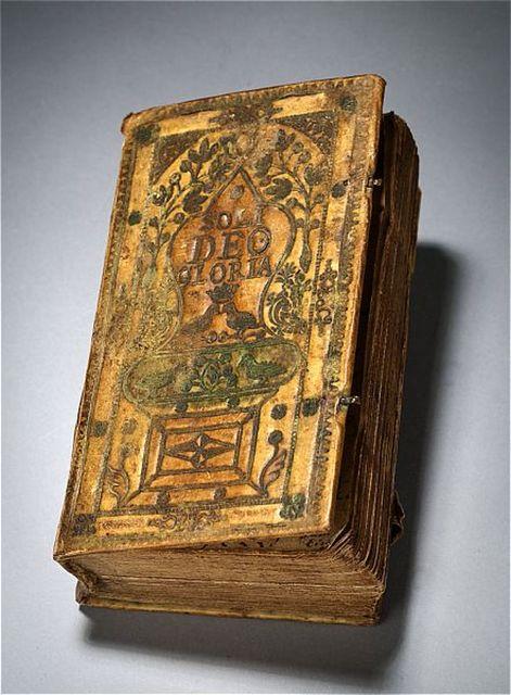 psalmbok av pergament, papper