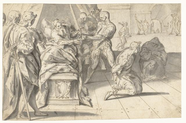 Rechtspraak van Graaf Willem III de Goede over de baljuw van Zuid-Holland