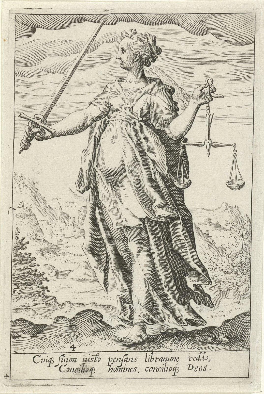 Rechtvaardigheid (Justitia)