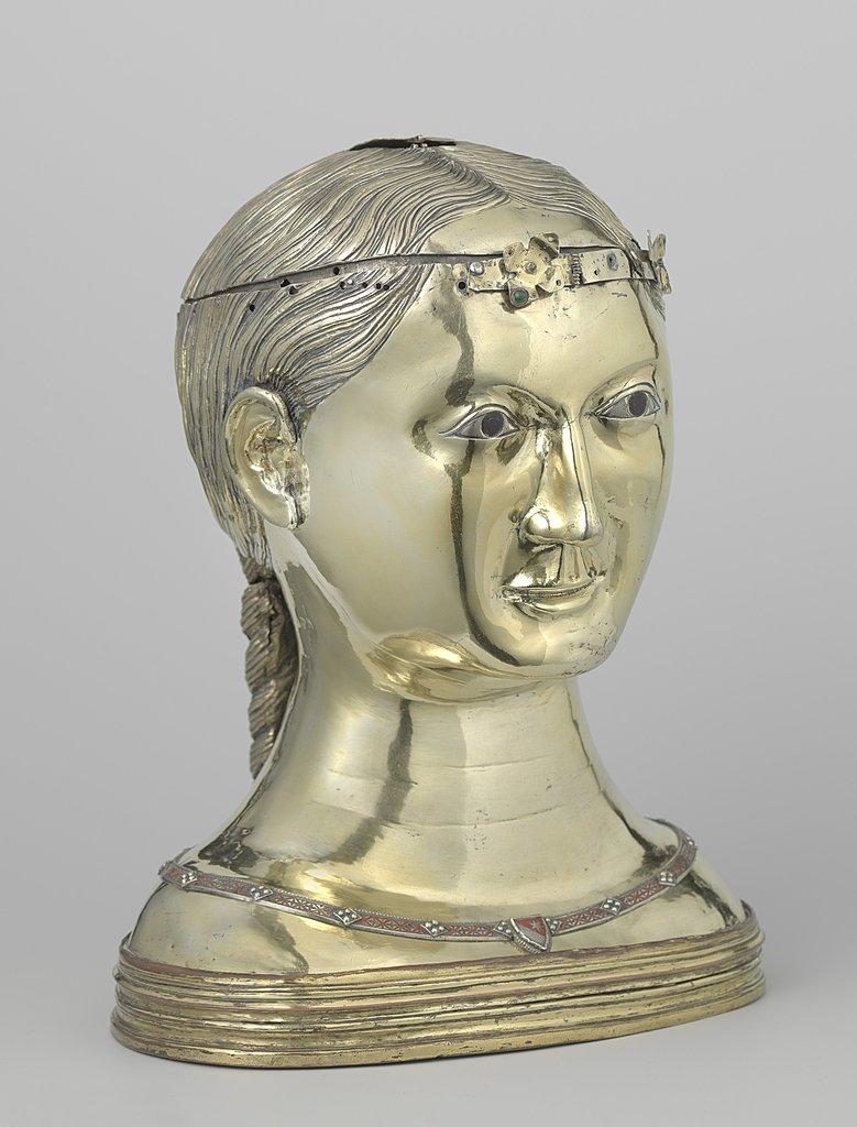 Reliquary bust of Saint Thekla