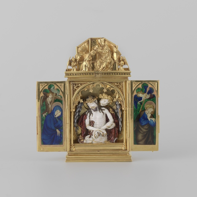Reliquary in the form of a triptych