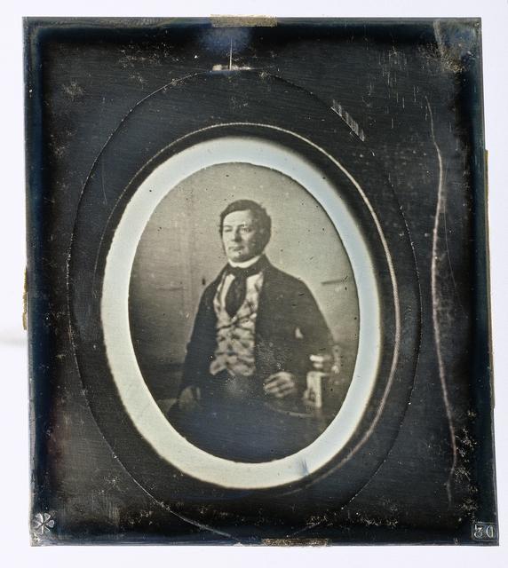 Reproductie van een portret van Louis Asser