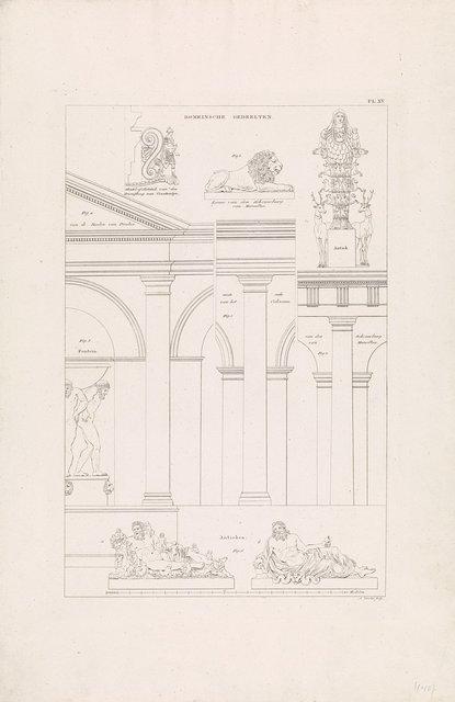 Romeinse architectuur en sculptuur