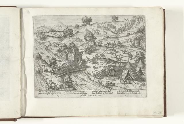 Saint-Gilles ontzet door de protestanten, 1562