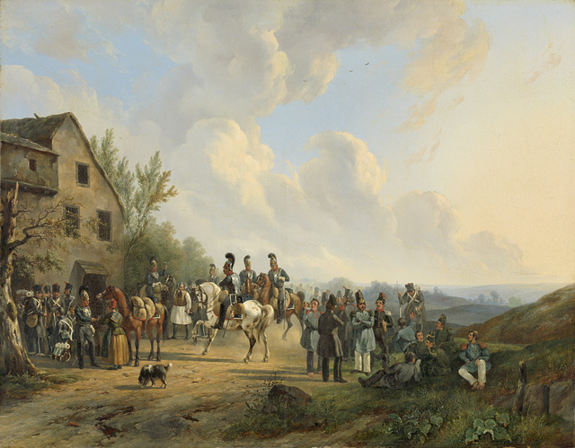 Scene from the Ten Days' Campaign against the Belgian Revolt, August 1831